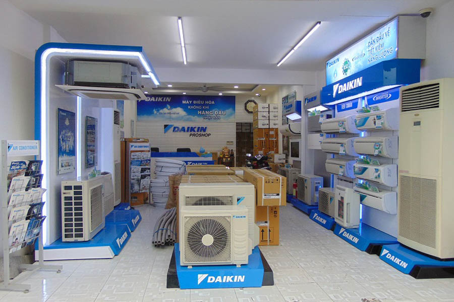 Địa chỉ bán máy lạnh Daikin 1 ngựa 20 ngựa