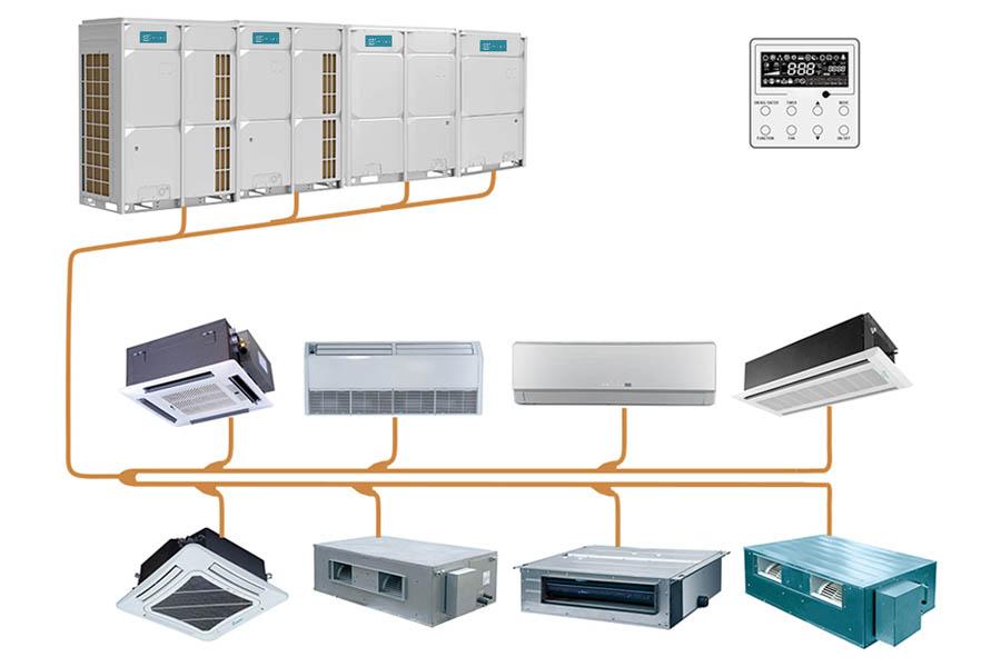 Giới thiệu về hệ thống máy lạnh VRV của Daikin