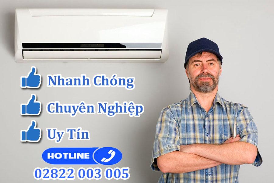 Trung tâm sửa chữa, bảo hành máy lạnh dân dụng chính hãng tại TPHCM